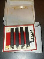 """4 x Indexable Carbide Turning Tools 1/2"""" As Photo"""