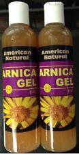 American Natural 2 x Arnica Gel 8 oz