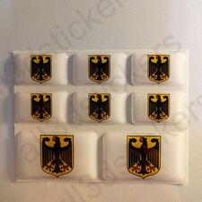 Adesivi Germania Adesivo Emblema Stemma Germania Resinati 3D Resinato Resine
