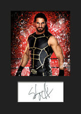SETH ROLLINS #3 (WWE) Signed Photo A5 Mounted Print - FREE DELIVERY