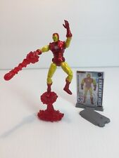 "2010 Marvel Universe Iron Man 4"" Figure w/ Display Stand"