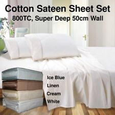 100% Cotton Bedding Sheets 601-800 Thread Count