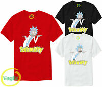 Rick and Morty T-Shirt Funny Schwifty Parody Tee Cartoon Tv Show Mens Tee Top