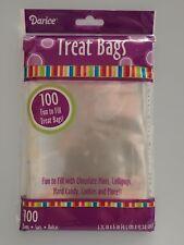 "Treat Bags 3.75"" x 6"" 100 Bags"