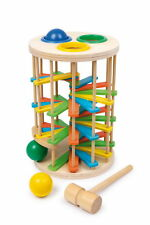 LEGLER EDUCATIONAL LARGE WOODEN HAMMER TOWER TOY STAIRS NURSERY PRE-SCHOOL