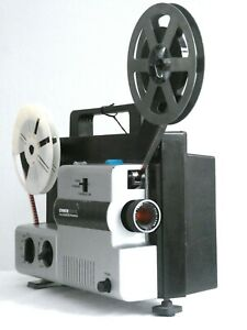 SERVICED Chinon 2000GL Dual Format 8mm Cine Projector GUARANTEED Working