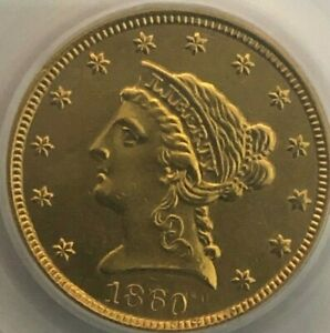 1860 $2 1/2 Quarter Eagle Gold NEW REVERSE