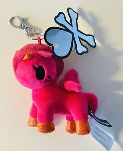 Aurora Tokidoki Unicorno Plush Clip-On Keychain Figure - Peperino