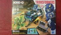 Kre-O Transformers STRONGARM CAPTURE CRUISER Building Set 105 Pieces Springload