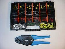 18 x AMP Superseal Stecker Set 2-polig + Crimpzange, Box Auto Motorrad Lkw