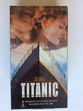 Titanic (VHS, 1998, 2-Tape Set, Pan-and-Scan)