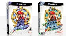 Super Mario Sunshine Spiel Würfel Hülle + Karton Kunst Work Abdeckung Kein Spiel