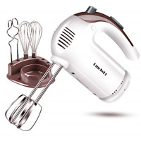 5 Speed Hand Mixer Electric 300W Ultra Power Kitchen Hand Mixers 6 Stainless ...