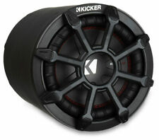 "Kicker TB Series 10"" Weatherproof Sealed 2-Ohm Tube Enclosure Car Subwoofer"