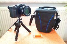 Lumix FZ200 l 25x600mm l 1A mit EXTRAS NEU I Bridge Kamera 14MP 24x FullHDWide