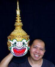 Hanuman Mask Khon Thai Handmade Ramayana Home Art Decor Collectible Gift New