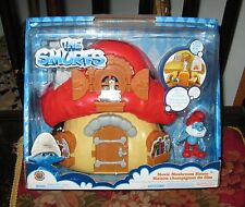 Papa Smurf The Movie Mushroom House MB 2013 FREE SHIPPING