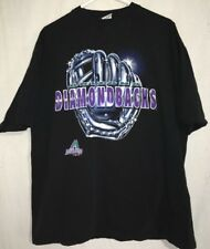 Arizona Diamondsback Men's True Fan Graphic T Shirt Black Nwot Size Xl