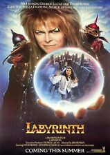 Labyrinth Movie Film Photo Print Poster Picture David Bowie
