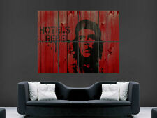 CHE GUEVARA CUBAN REVOLUTION   DIGITAL  ART WALL LARGE IMAGE GIANT POSTER !!
