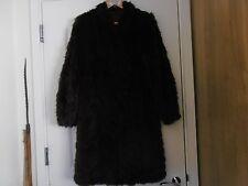 Elegant  1930s  Ladies  Brown Fur  3/4 Length Coat