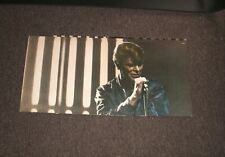 David Bowie Stage 1978 2 lps records 1973-76 rare photos news clippings Rare !