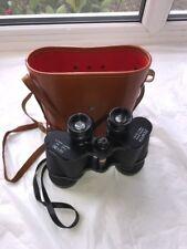RARE HANS WEISS 10x50 ZENITH 5.5 Degree Field Binoculars With Hard Case