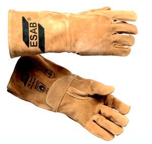 ESAB , TIG Welding Gloves, Morbido Saldatura Guanti, Misura: 9/L