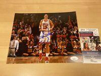 Joakim Noah Chicago Bulls Rose Knicks Autographed Signed 8X10 Photo JSA COA