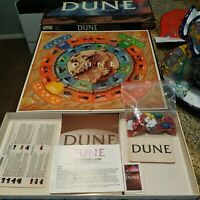 Parker Brothers DUNE Board Game Vintage 1984 Incomplete / Missing Pieces
