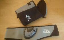 slendertone flex max abdominal toning belt with handy carrying bag