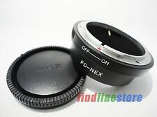 Adapter for Canon FD Lens to Sony E NEX 3 NEX 5 NEX 7 NEX C3 5C 5N 5R VG10 + CAP