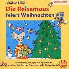 ANGELA LENZ - DIE REISEMAUS FEIERT WEIHNACHTEN  CD NEU