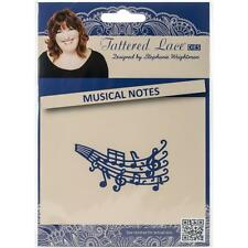 """Tattered Lace Dies ~ Musical Notes, 1.1/2"""" X 2.3/4""""  137761 ~ NIP"""