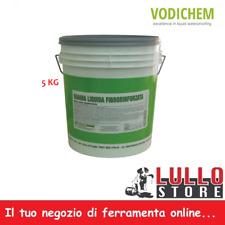 Guaina Liquida Impermeabilizzante Fibrorinforzata Grigio 5 Kg