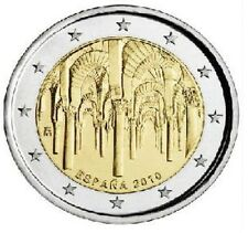 25 x 2 EUROS ESPAÑA 2010 CARTUCHO DE MEZQUITA DE CÓRDOBA ROLLS