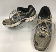 Saucony Men's Cohesion Running Shoes  White Silver & Blue Size 10.5   (sh-52)
