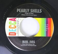 Folk 45 Burt Ives - Pearly Shells / What Little Tears Are Made Of On Decca