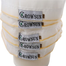 GROWSUN All Mesh 5 Gallon 5 Bag Set Bubble Hash Bag Hydroponic Supplies