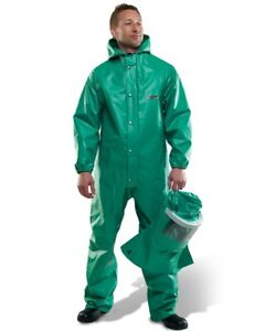 CHEMMASTER CHEMICAL BURN SAFETY PROTECTIVE LABORATORY SUIT