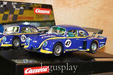 "Slot car SCX Scalextric Carrera 27470 Evolution VW Käfer ""Group 5"" Race 1 Nº47"
