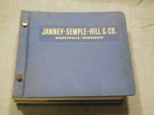 1955 - 56 Tool & Sporting Goods  Catalog. Janney Semple Hill & Co