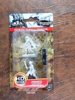 Human Female Fighter - D&D - Wizkids Nolzurs Marvelous Miniatures #1B0