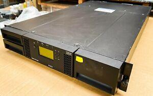 IBM System Storage TS3100 Tape Library 3573-L2U 46X2472 LTO 5 FH 8 GBPS