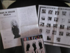 DALE BOZZIO RIOT IN ENGLISH JAPAN version (japanese booklet, pubs !)