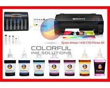 NEW Epson Artisan 1430 Printer + CISS + 600ml Pro Dye Ink + Waste Tank