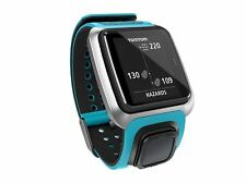 TomTom Golfista GPS Distanza Telemetro Bluetooth Impermeabile Orologio Da Golf-Blu