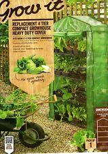Grow it Gardman Replacement 4 Tier Grow Arc COVER Heavy Duty Greenhouse Garden