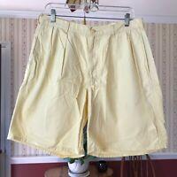 "Polo Ralph Lauren Men's Yellow Shorts Size 34 (32"" actual) *Read"