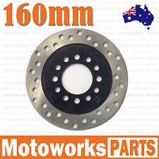 160mm Rear Brake Caliper Disc Disk Rotor 110cc 125cc Quad Dirt Bike ATV Buggy